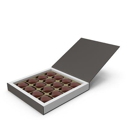 Подарочная коробка с шоколадом ко Дню Святого Валентина