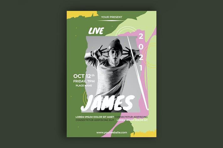 Thumbnail for DJ Music Poster