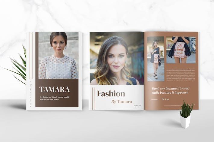 Thumbnail for Fashion Media Kit Template