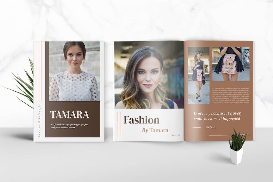 Fashion Media Kit Template
