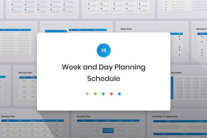 Thumbnail for Планирование недели и дня, расписание слайдов Google