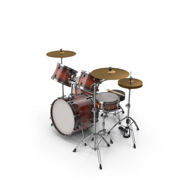 Akustik-Trommel Kit