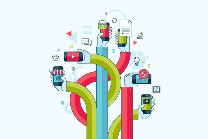 Thumbnail for Applications et services de téléphonie mobile