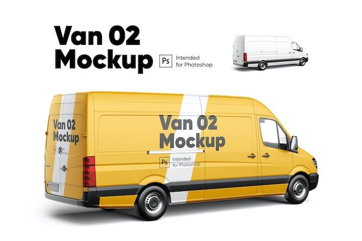 Thumbnail for Van 02 Mockup