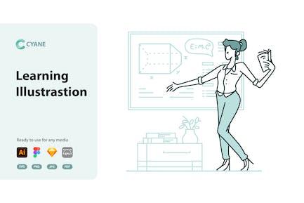 Cyane - Learning Illustrastion