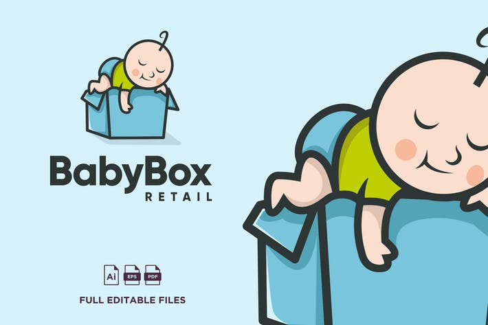 Thumbnail for Baby Logo Design - [code PW]