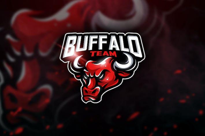 Thumbnail for Buffalo Team - Mascot & Esport Logo