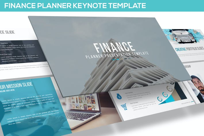 Thumbnail for Finance Keynote Template