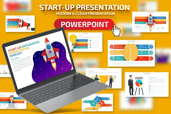 Thumbnail for Start-up Powerpoint Presentation