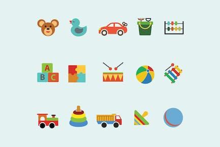 15 Children's Toy Icons