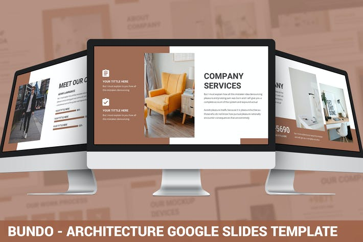 Thumbnail for Bundo - Architecture Google Slides Template