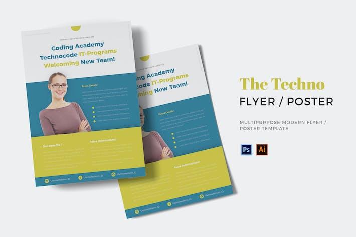 Thumbnail for Techo Program Flyer