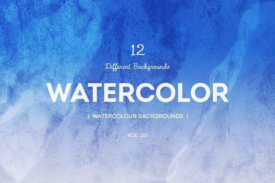 watercolor backgrounds V03