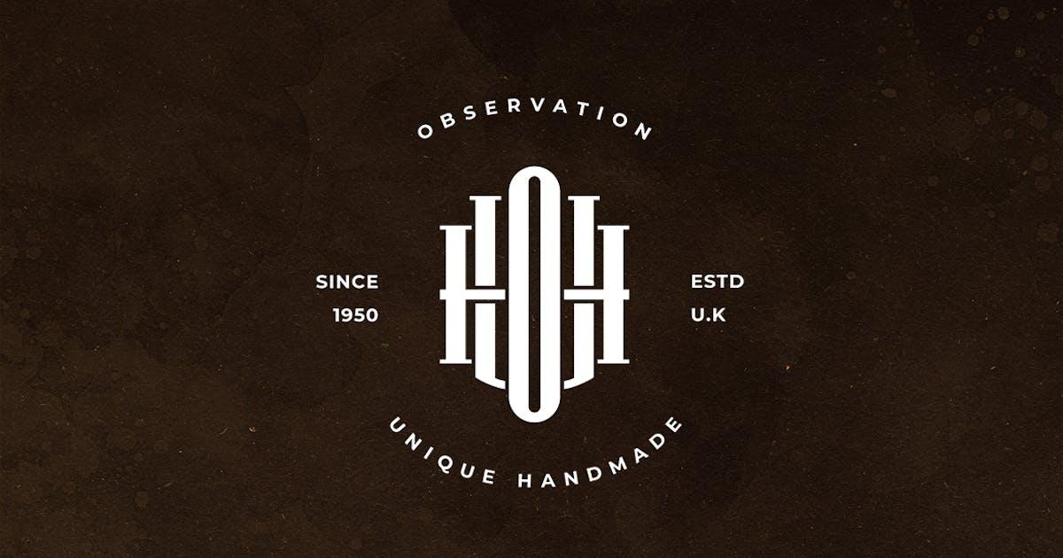 Download UOH Monogram Logo by sagesmask