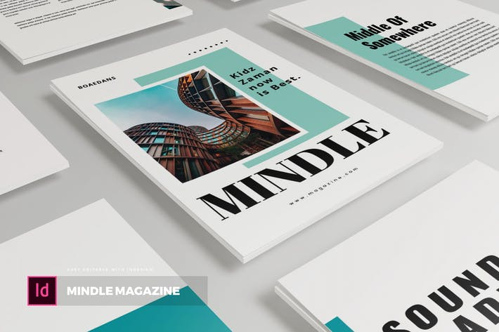 Thumbnail for Mindle| Magazine Template