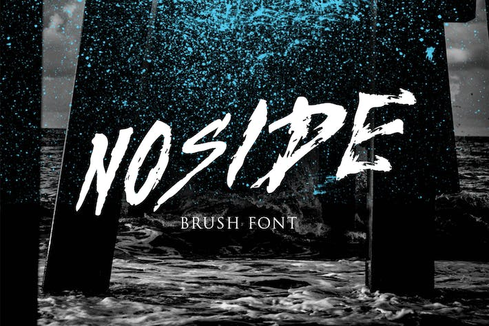 Thumbnail for Noside Typeface