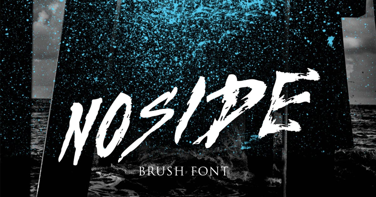 Download Noside Typeface by jiwstudio