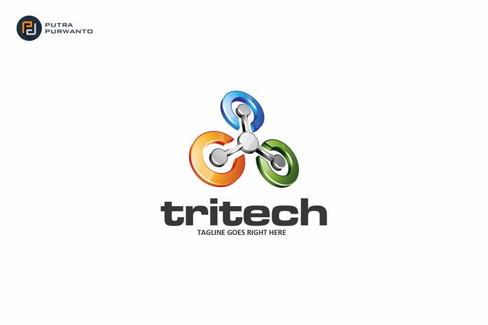 Thumbnail for Tritech - Logo Template