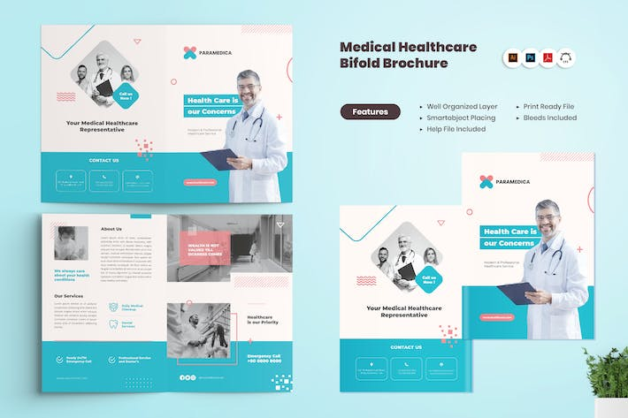 Thumbnail for Medical Healthcare BiFold Brochure