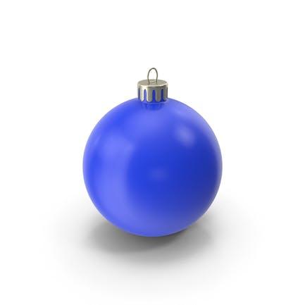 Рождественский орнамент синий