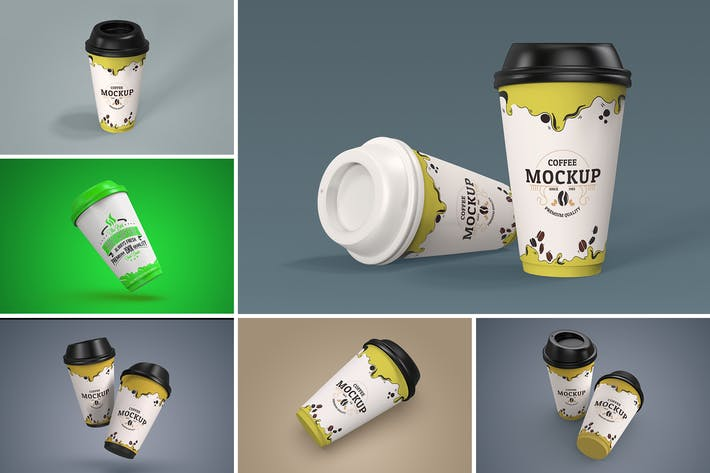 Thumbnail for Paper Coffee Cup Mockup 1.0