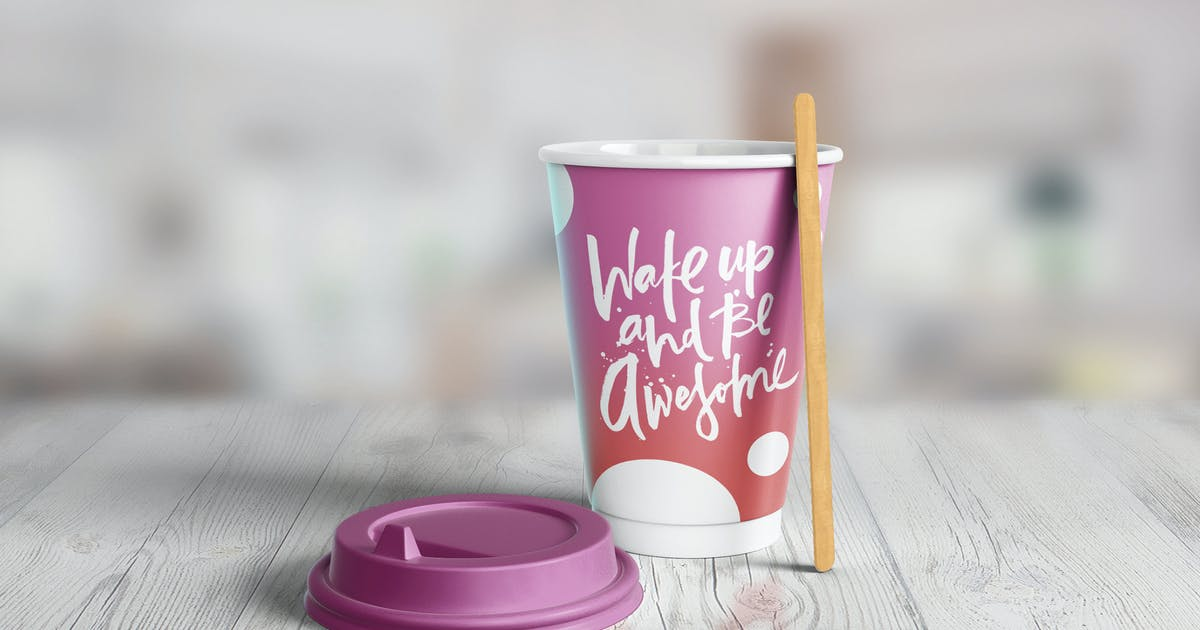 Download Paper Cup Mockup by 2dsight