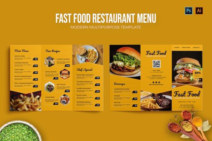 Thumbnail for Fast Food Resto - Restaurant Menu