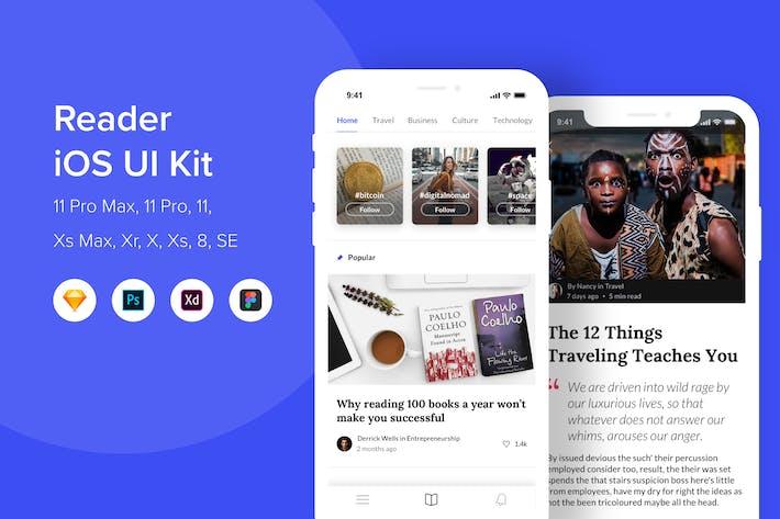 Thumbnail for Reader iOS UI Kit