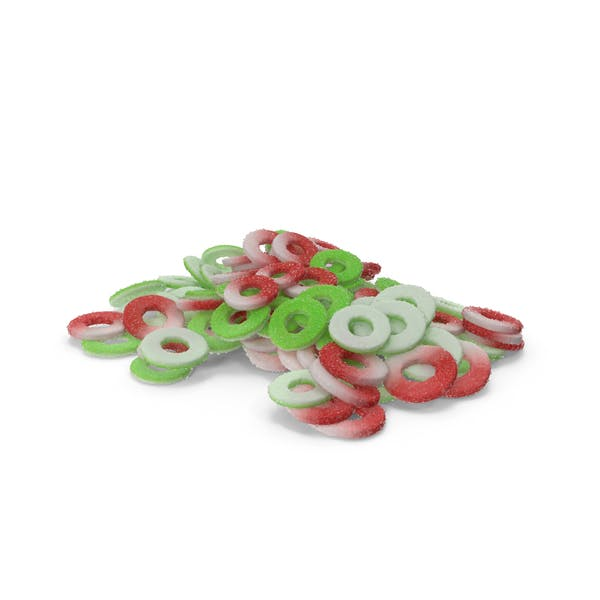 Thumbnail for Pile of Sugar Coated Gummy Rings