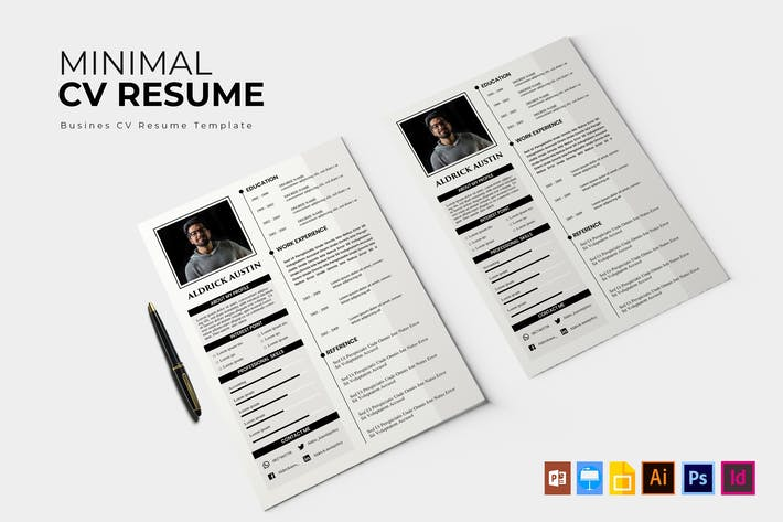 Thumbnail for Minimal | CV & Resume