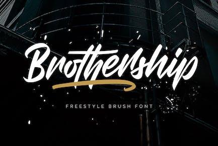 Broadship - Fuente de cepillo de estilo libre