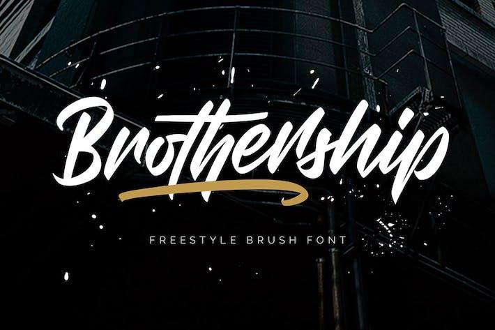 Thumbnail for Братство - шрифт для фристайла
