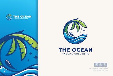 Ocean Logovorlage