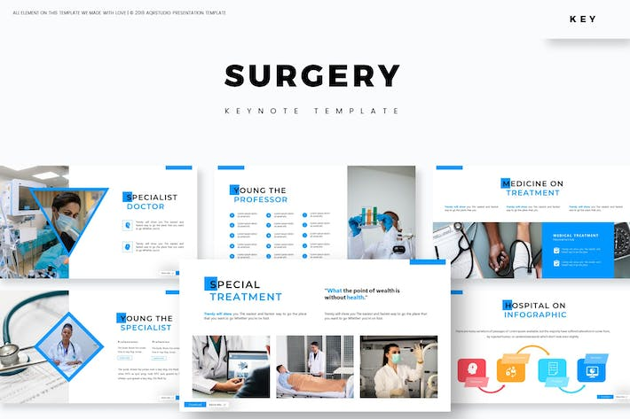 Thumbnail for Surgery - Keynote Template