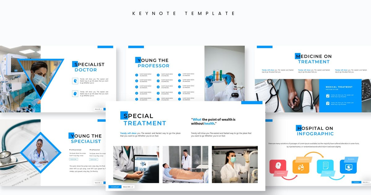 Download Surgery - Keynote Template by aqrstudio