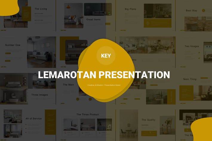 Thumbnail for Lemarotan - Keynote Vorlage