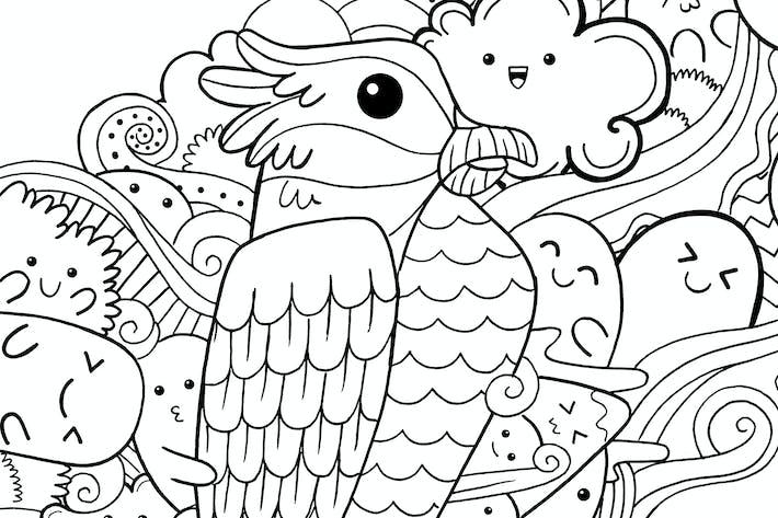 Thumbnail for Eagle Doodle