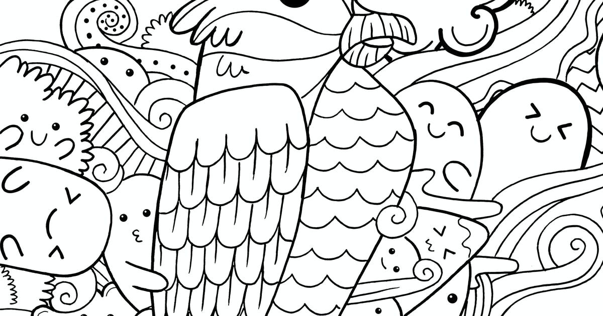 Download Eagle Doodle by medzcreative
