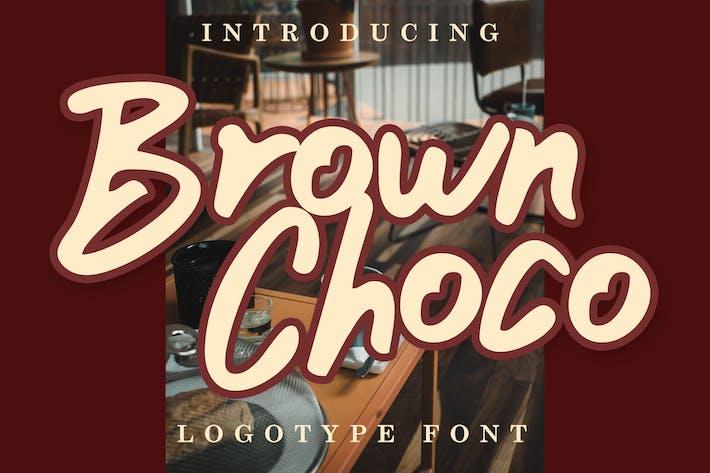 Thumbnail for Marrón Choco Logo Fuente