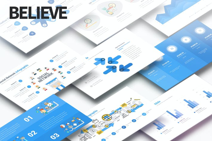 Thumbnail for Believe - Multipurpose PowerPoint Presentation