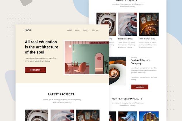 Architectur - Email Newsletter