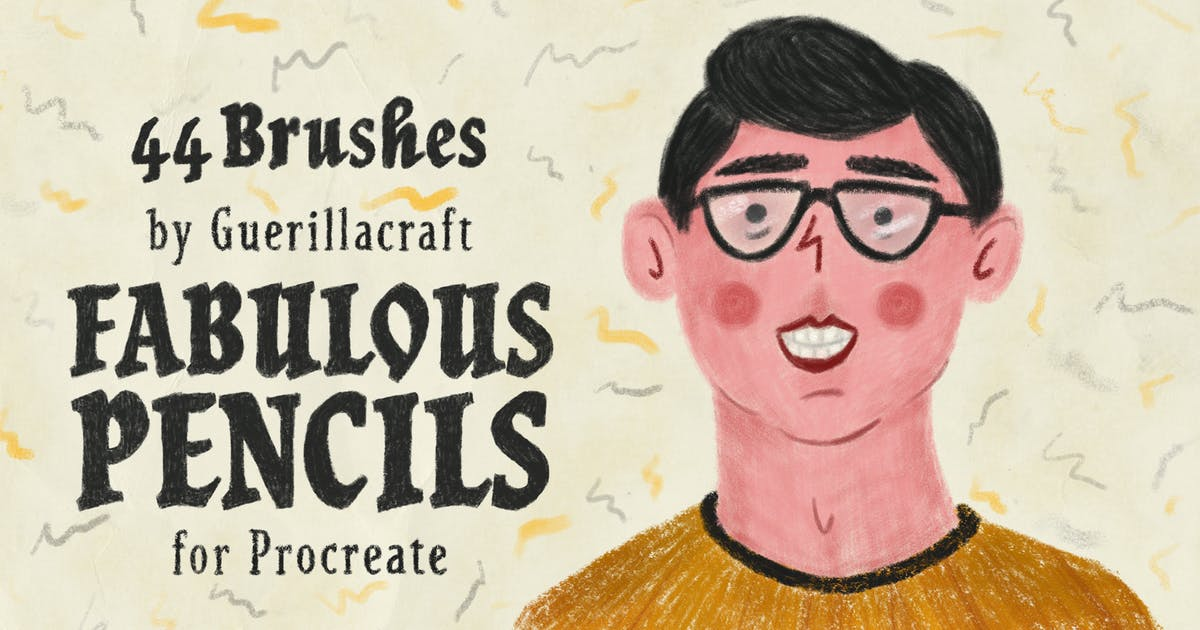 Download Fabulous Pencils for Procreate by guerillacraft