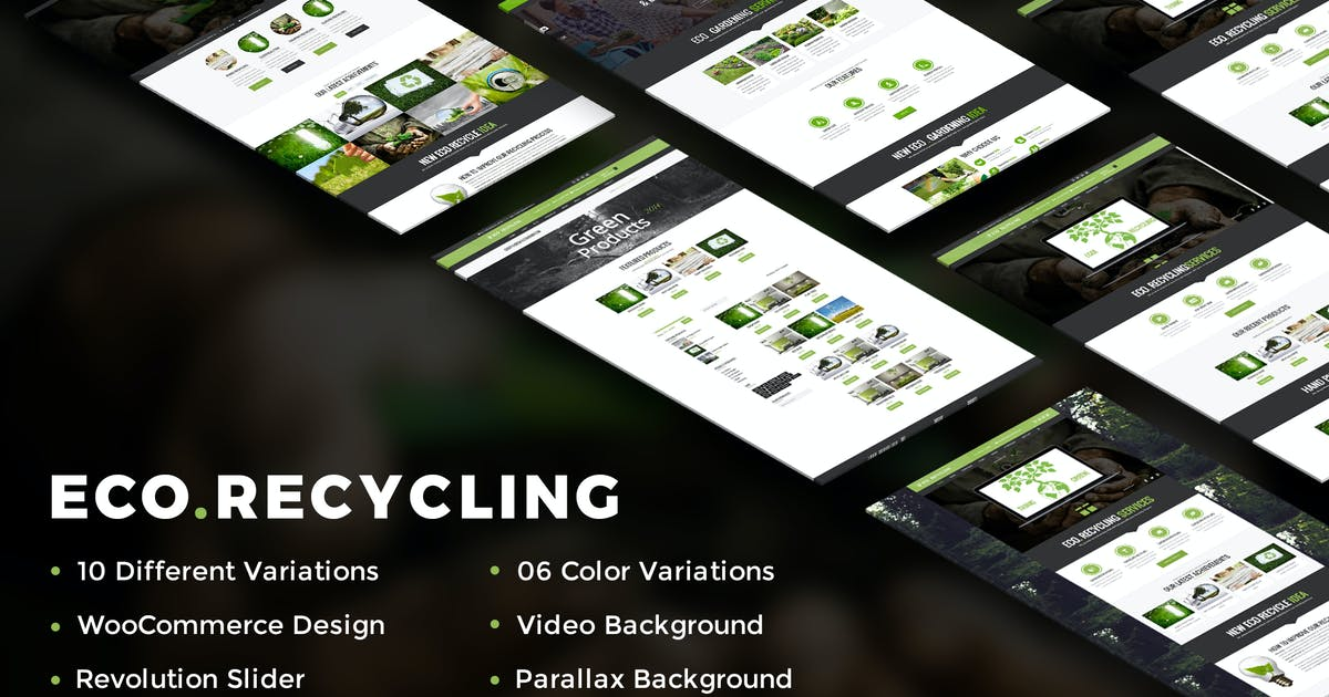 Download Eco Recycling - A Multipurpose HTML Template by kamleshyadav