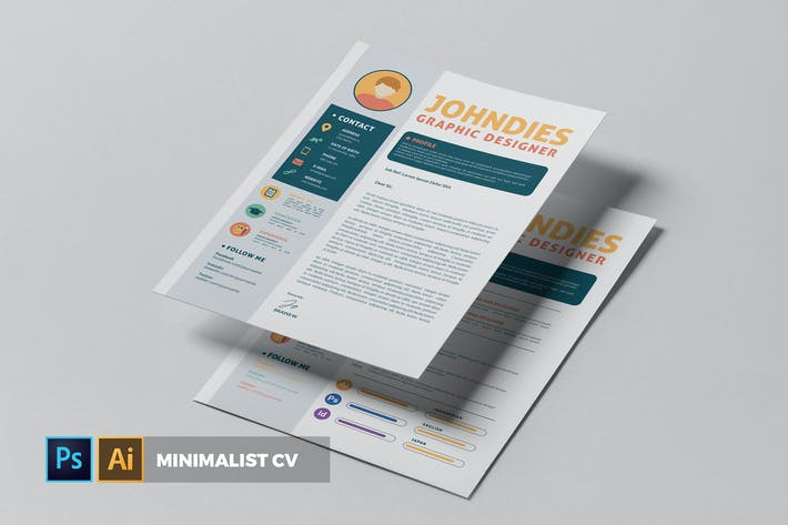 Thumbnail for Minimalist | CV & Resume