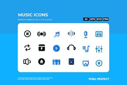 Sound-Icon - 6 Stile