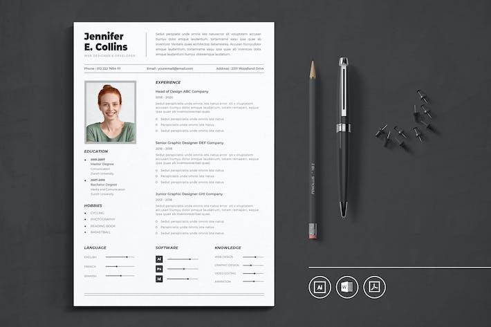 CV Resume Vol.7