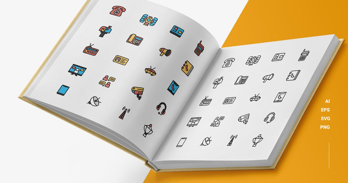 Download Communication - Icons by esensifiksi