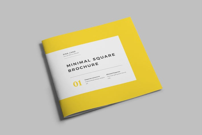 Thumbnail for Minimal Square Brochure Vol 2