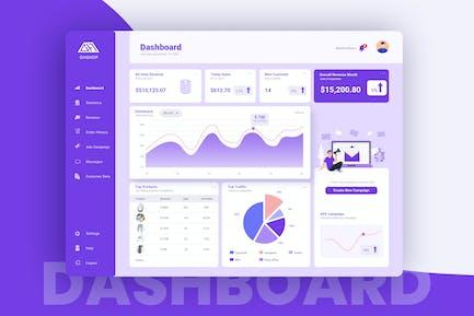 Shop Admin Dashboard UI Kit