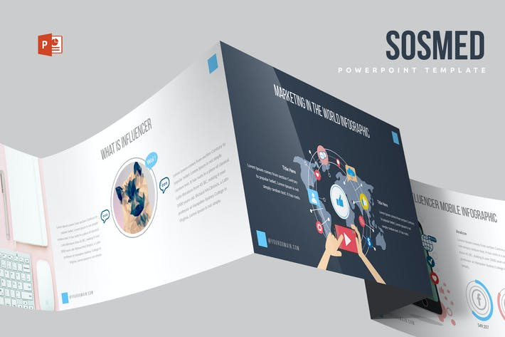 Thumbnail for Sosmed Powerpoint Template